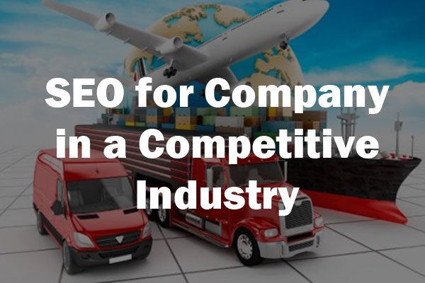 seo for company in a competitive industry case study