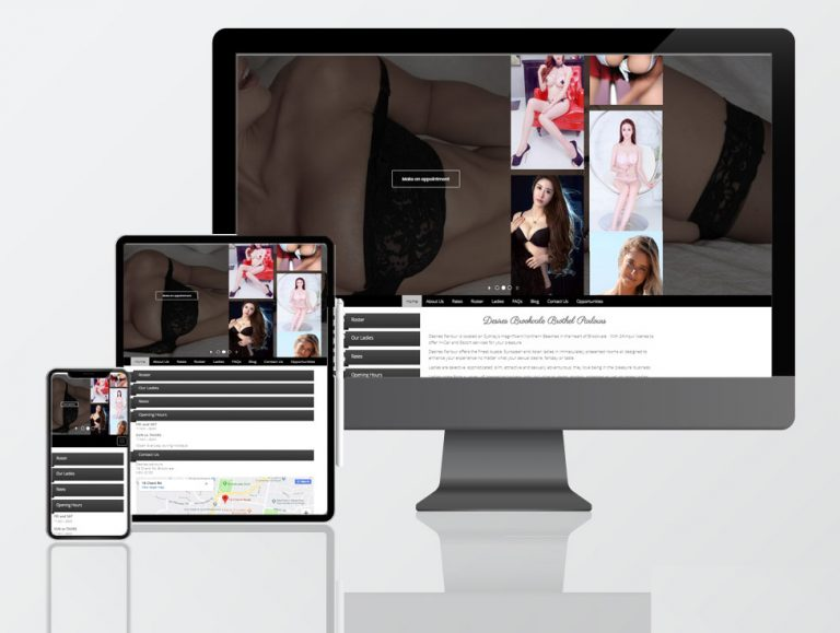 adult website web design