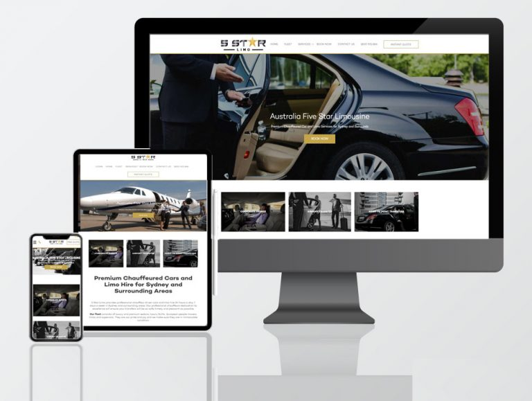 car hire rental web design
